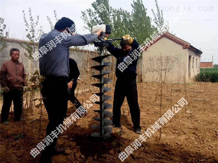 种植香蕉挖坑机