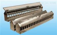 饲料料槽 玻璃钢纤维强化饲料塔,玻璃钢食槽,自动供料 饲料塔