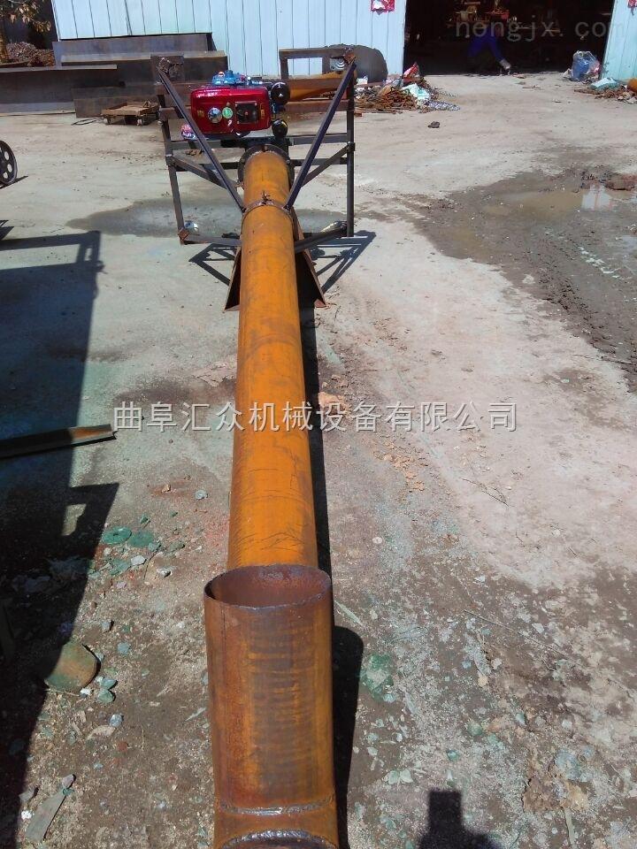垂直送料绞龙, 碳钢管塑料螺旋上料机