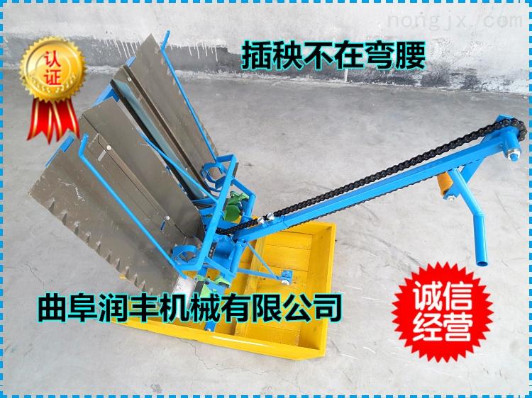 水稻插秧机工作视频