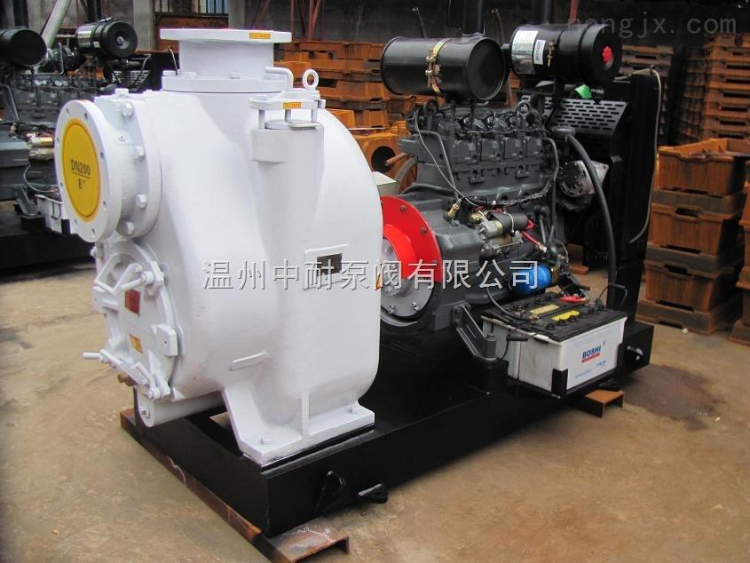 P型自吸式排污泵