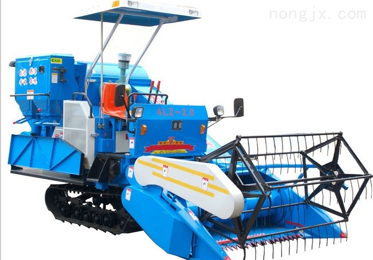 捷龍新型履帶式聯合收割機