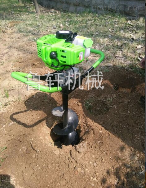 地钻打洞机设备 果树施肥打孔机 小型栽树挖坑机