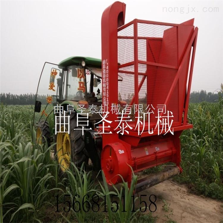 龙江县玉米秸秆粉碎收获机 玉米秸秆收割机