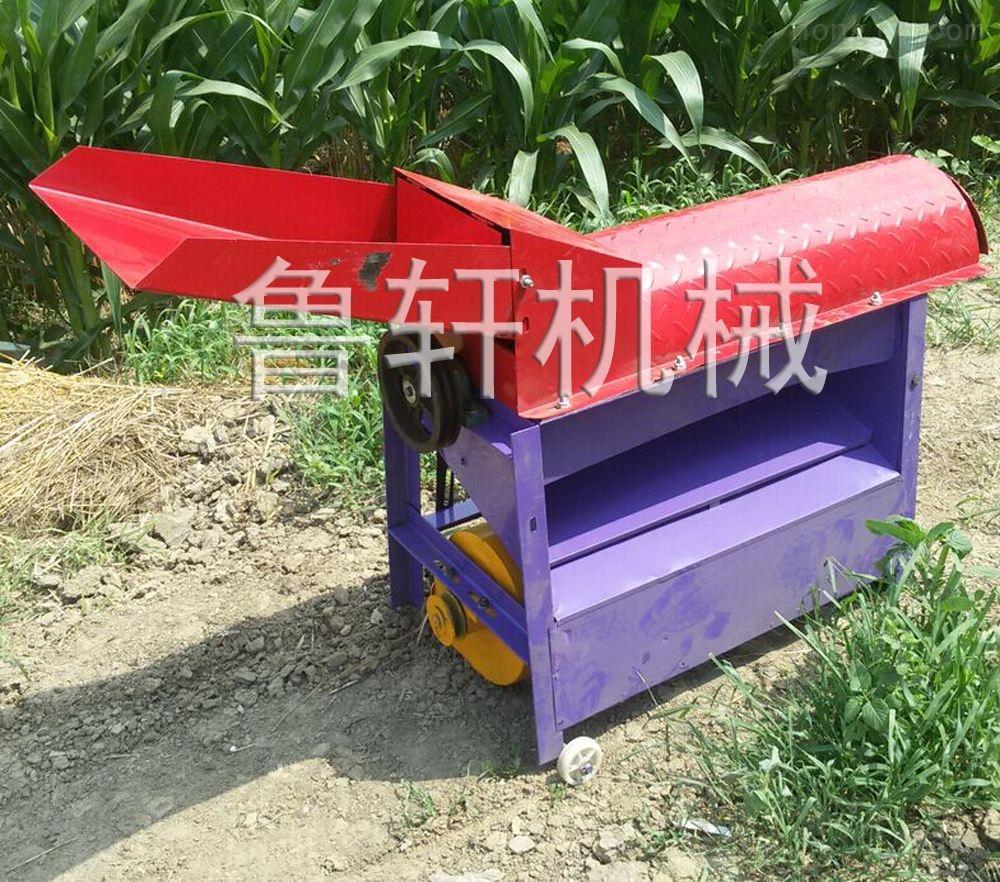 河北玉米专用脱粒机厂家 小型玉米剥皮脱粒机设备