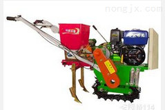 自走式中耕播種施肥機
