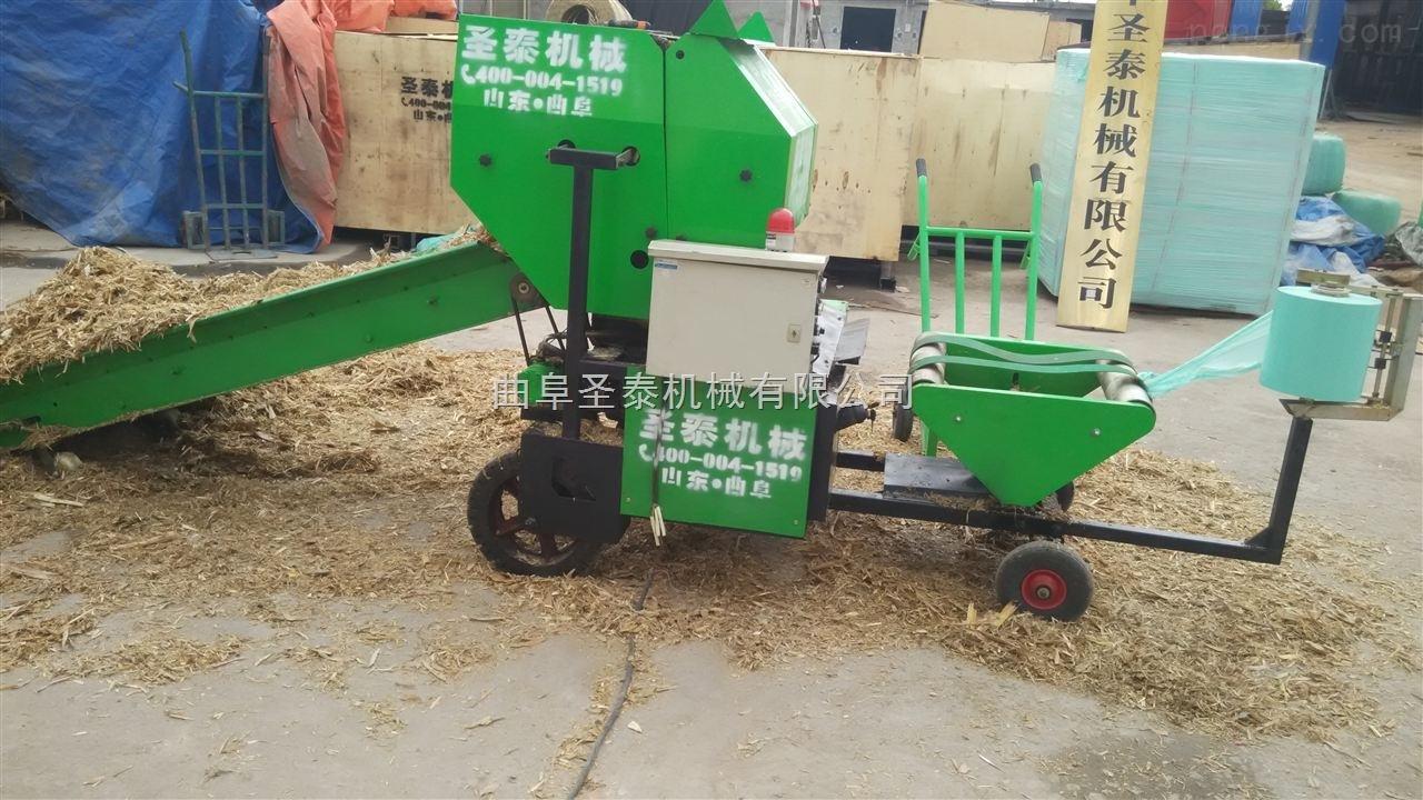 ST5552C-第五代全自动饲草青储打捆机 玉米秸秆青储打捆机