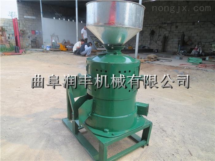 小型成套碾米机 大型家用谷子水稻碾米机