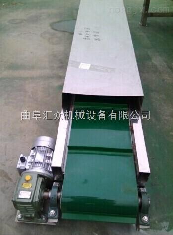 带活动挡边铝型材上料机,工业铝型材皮带机