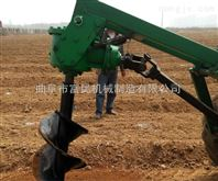 大型拖拉机挖坑机