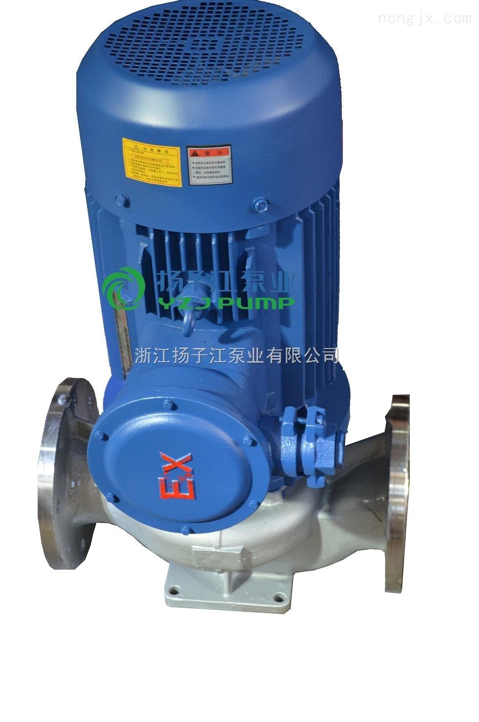 离心泵:ISG型系列立式管道离心泵|立式离心泵
