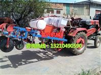 四轮拖拉机带动的花生播种机 覆膜机 ,喷药多功能覆膜机厂家