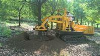 供应三普牌履带式挖树机 我爱发明大马力柴油苗木起挖机