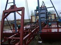 海源制作双磁选式、黄沙铁沙两用船 挖泥船 铁砂船等各式机械