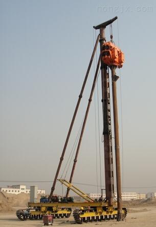 供应海泰打桩机JZL45液压电动履带打桩机塔机升降机塔吊