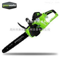 格力博40V电锯锂电池电链锯充电电锯专业伐木链锯
