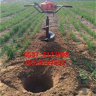 拖拉机挖坑机图片大全 手提式挖坑机运作视频y2