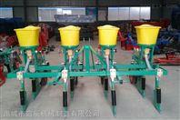 玉米单粒双粒精量播种机穴播机 拖拉机多行玉米精播施肥机