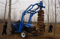 东方红牌拖拉机挖坑机 604电线杆挖坑机型号