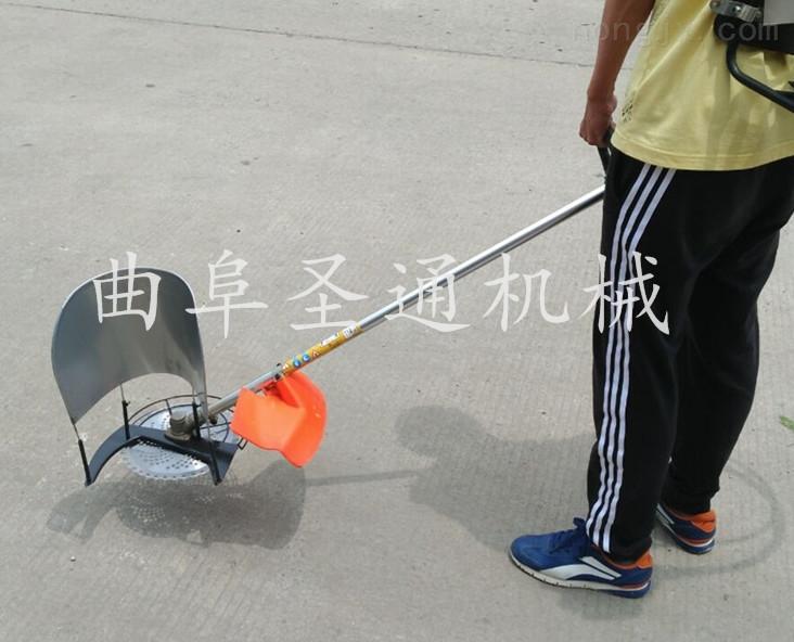 大功率省油果园割草机 烂泥田水稻小型收割机