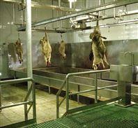 羊屠宰设备—自动沥血线