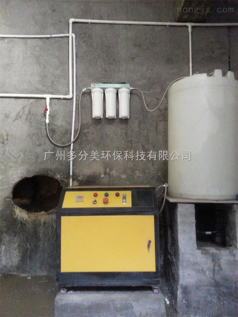 供应高压微雾喷淋除臭系统 供应喷淋除臭设备 人造雾设备