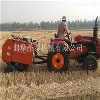 麦秸捡拾打捆一体机  麦秸秆圆捆机