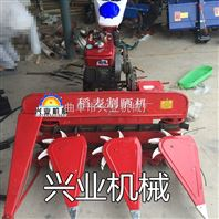 多功能水稻小麦牧草收获机价格 手扶式汽油牧草割晒机