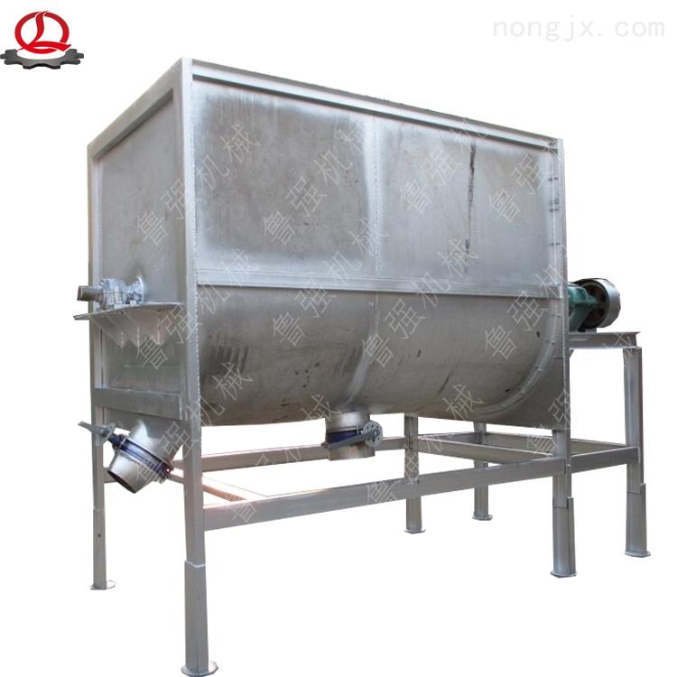 LQWJB-200-卧式混合搅拌机 山东厂家定做混合饲料搅拌机