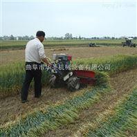 侧铺谷子割晒机 小型水稻收割机