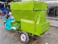 新款饲料喂料机 移动方便的电动撒料车