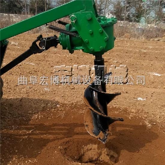 小型手提植树挖坑机