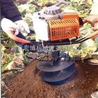 二冲程植树挖坑机 大棚支架打桩钻坑机 手提式打孔挖穴机