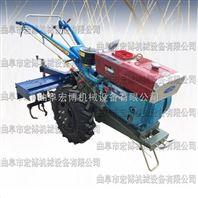手扶式柴油拖拉机松土犁地旋耕机 农业机械 坡地开荒犁地机