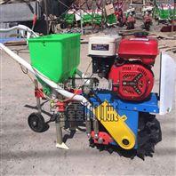 手扶式施肥播种机 新款花生施肥播种机价格 多功能施肥播种机
