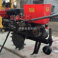 手提小麦播种机价格 新型免耕汽油施肥播种机厂家