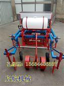 四轮拖拉机带花生播种覆膜机 手扶带玉米播种机 花生起垄机