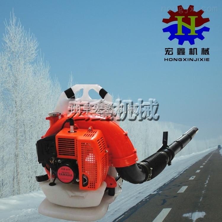 背负式蔬菜大棚吹雪机 汽油吹风机 大马力民航吹风机