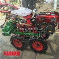 汽油挖蒜机 半自动挖蒜机价格 家用手扶挖蒜机