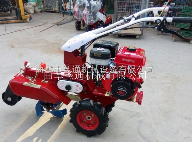 油菜田耕作小型管理机 自走式灌溉施肥开沟培土机
