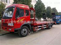 山东销售重型平板拖车 重型平板拖车价格 重型平板拖车厂家