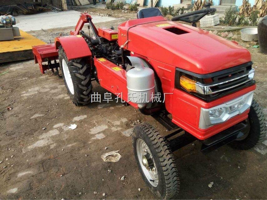 两驱多功能超低矮田园管理机 果园农业机械小四轮拖拉机