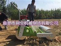谷子覆膜播种机 手提式播种机 播种机价格