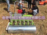 柴油动力播种机 稻谷播种机 手扶播种机
