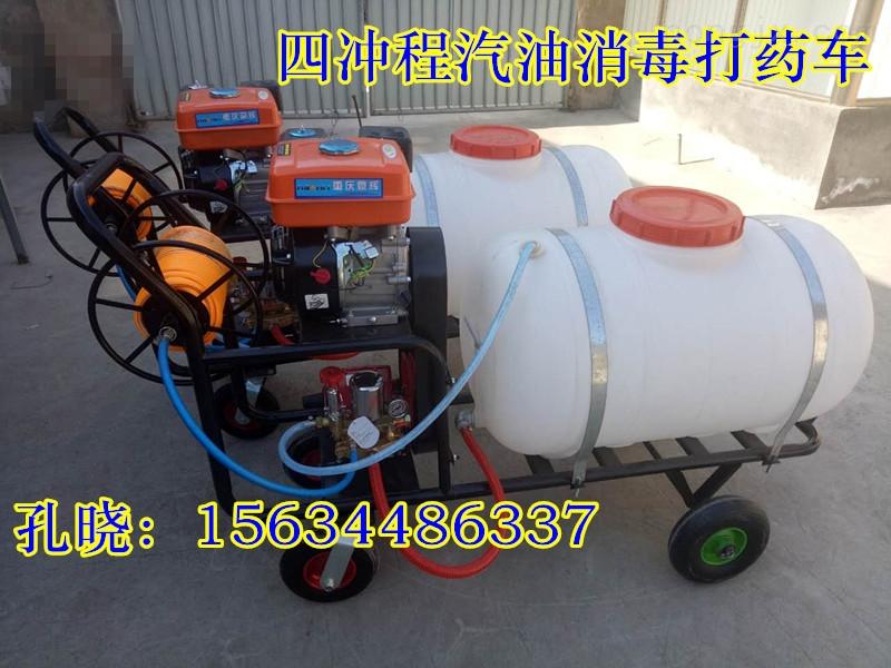 高壓消毒噴霧器批發 四沖程汽油高壓打藥機 高壓汽油農藥噴藥機