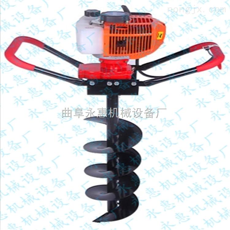 多功能拖拉机带动式挖坑机 厂家定做挖坑机