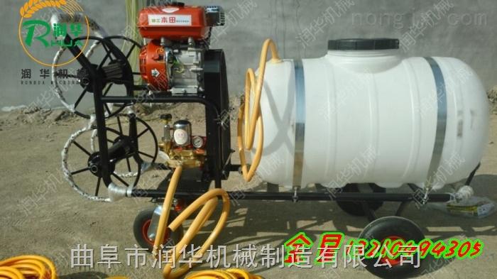 小型打药车 杀虫灭菌打药车 汽油高压打药喷雾器