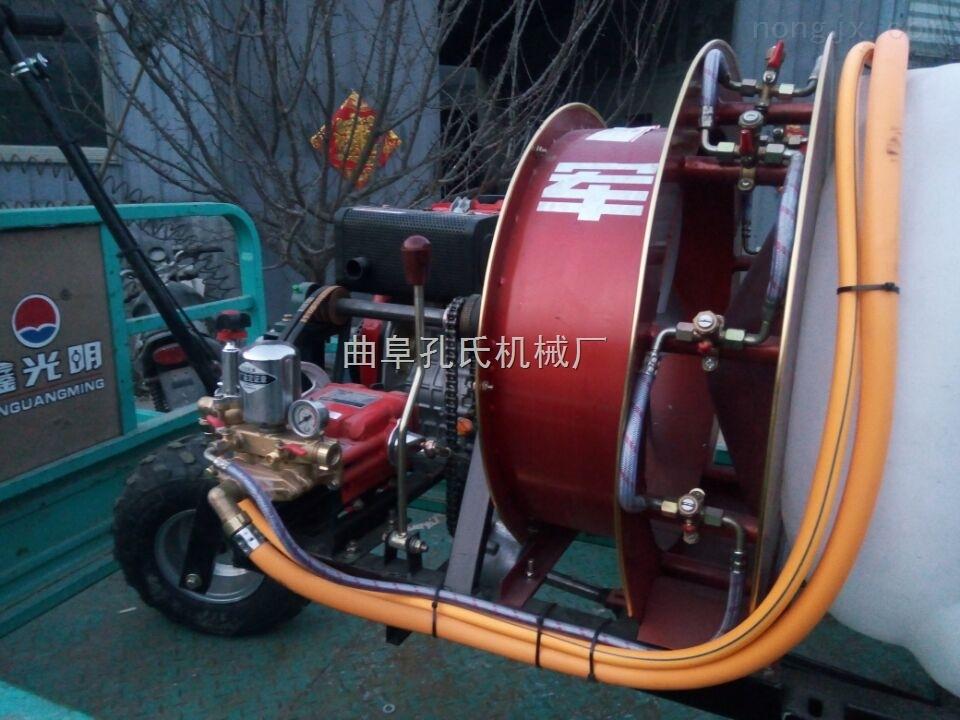 300-大型汽油柴油行走风送发散式打药车 100L-300L可选