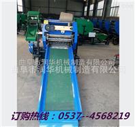 润华供应玉米秸秆揉丝青贮机 全自动青贮圆捆包膜机厂家