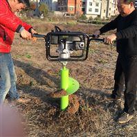 电线杆挖坑机 园林绿化植树机 轮拖拉机硬土质挖坑机厂家